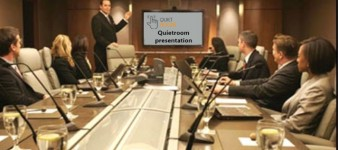 Get a free presentation on the advantages of the Quiet Room® label